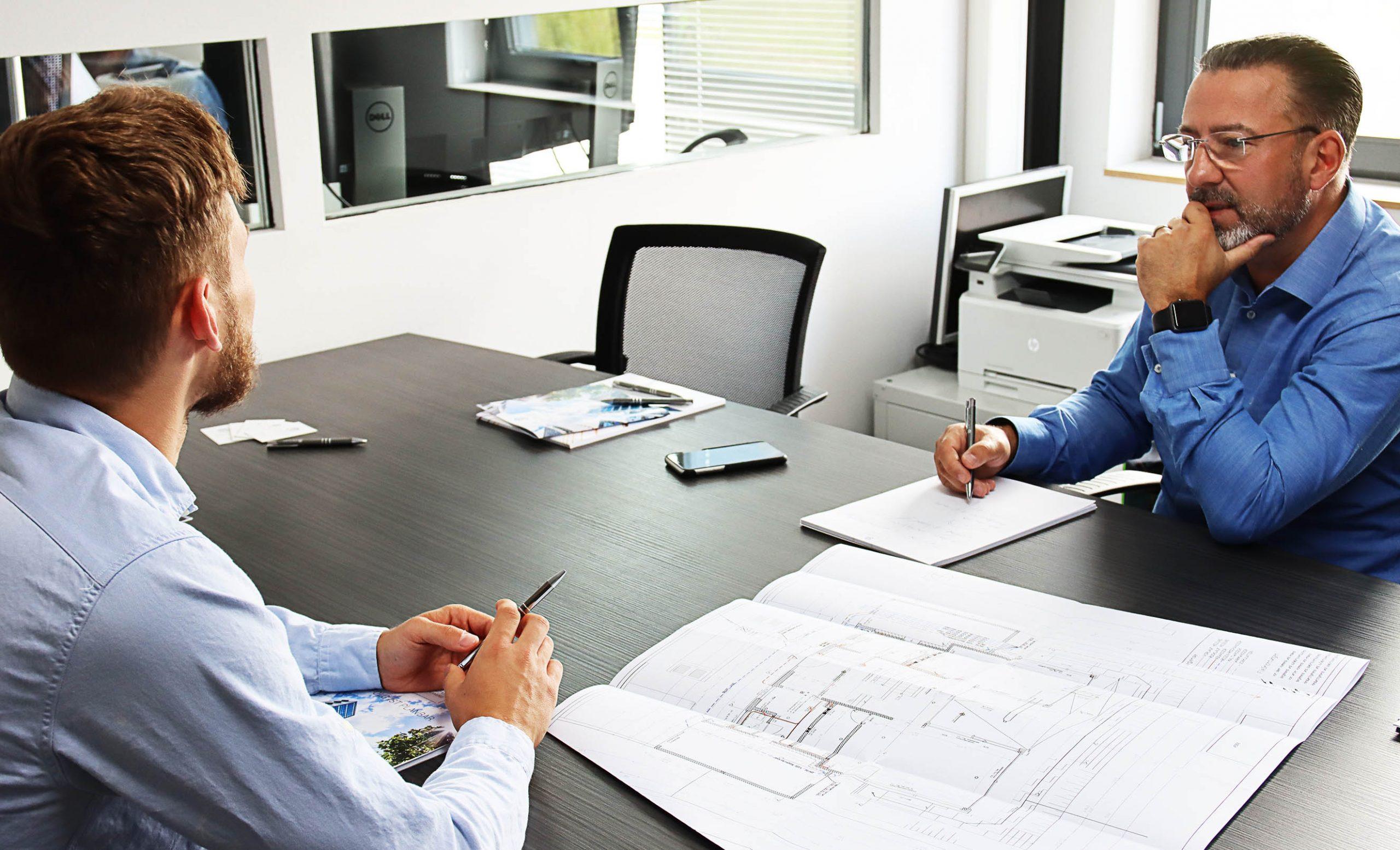 TGA Planung - Besprechung, ZW Plan